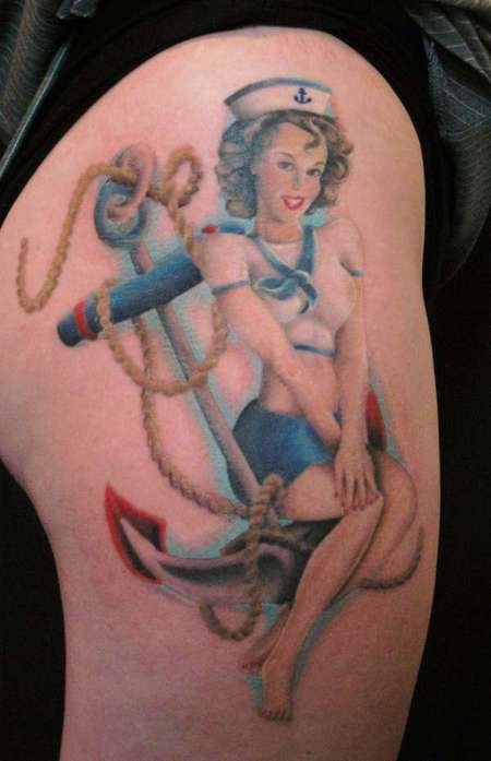 PinUp tattoos