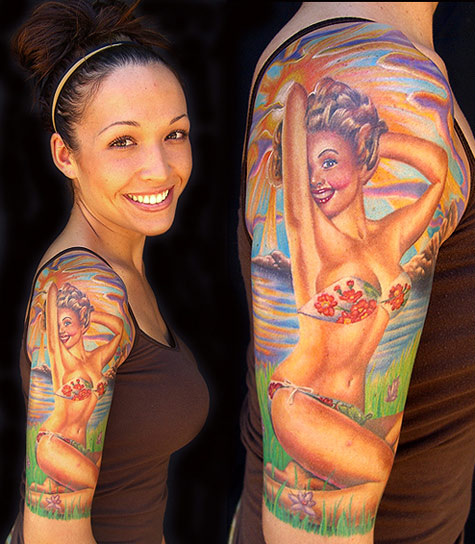 PinUp tattoos