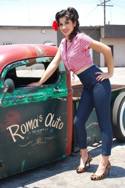 Total Betty Pin Up