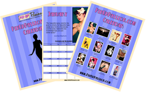 Enter Your Details Below To Get Your Free Pin Up Calendar