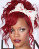 Rihanna red hair pin up
