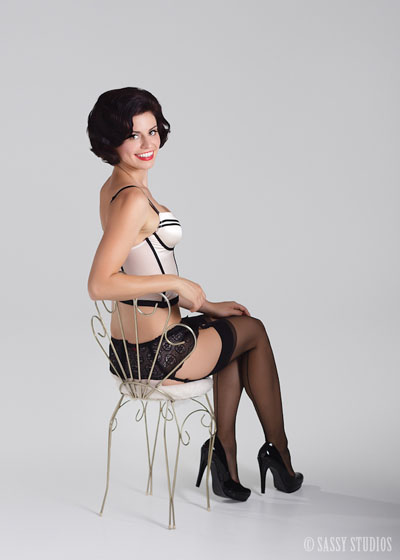 Pin Up Photoshoot with Sassy Studios