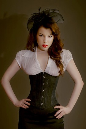 Corsets a vital piece of the pin up lingerie for What to wear under wedding dress corset