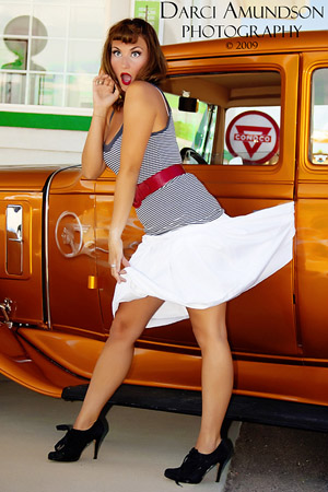 Pin Up Photographers Denver