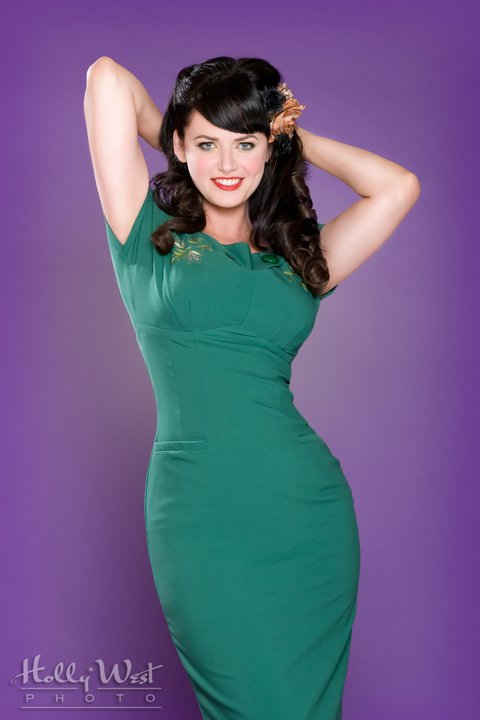 Heidi Van Horne Pin Up Model