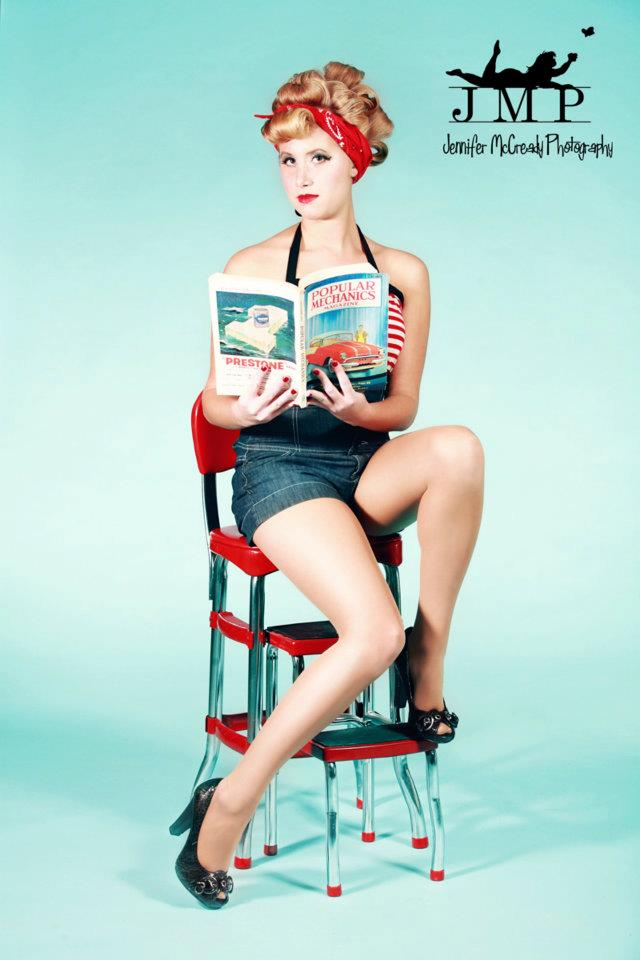 Lady Luck Pin Ups