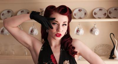 Pinup Model: Lady Lace (www.facebook.com/missladylace) - Photographer: Ebony Fink