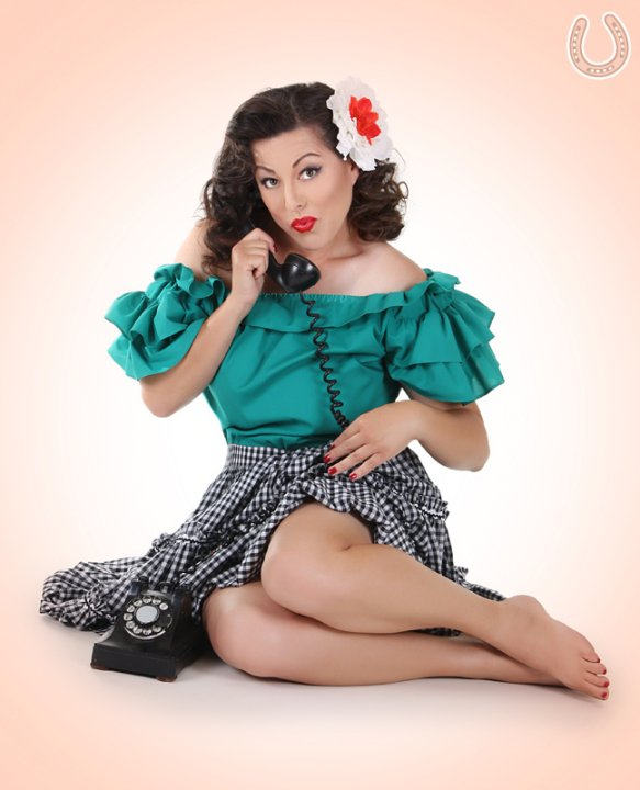 Lone Star Pin Up
