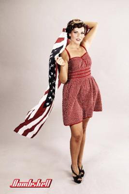 Patriotic Pin Up