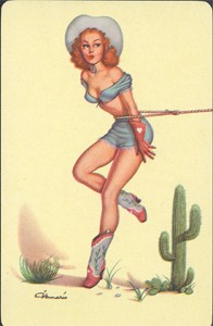 Pin up paintings