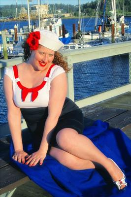 Scarlett Rose and the sailor shoot!
