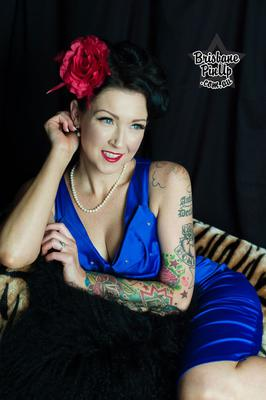 MUAH Simone DeYong, Photographer Brisbane Pinup