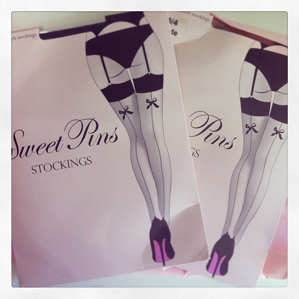 sweet pins stockings review