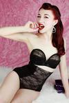 Pinup Model: Lady Lace (www.facebook.com/missladylace) - Photographer: Luke Milton Shoots