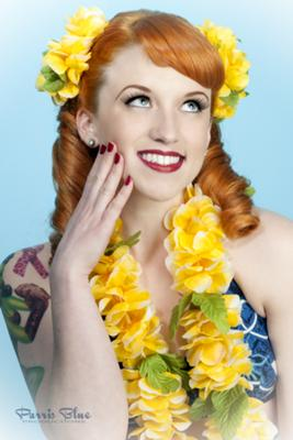 Aloha Means Hello (Model: Lisa Luxe  | MUAH: Model's Own)