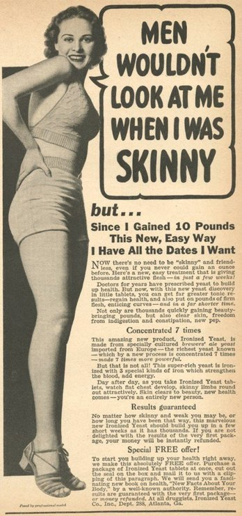 Weight Gain Ads