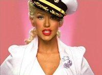 Christina Aguilera Sailor Pin Up