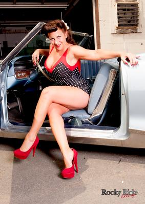 Photographer - Rocky Ride PinUp