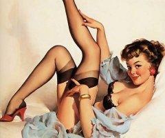 Pin Up stockings