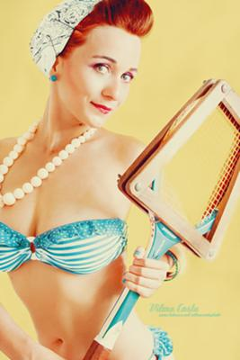 ♥ Vintage Summer ♥  Model: Ana Make-up & Hair: Vilma Costa Acessories: Montra Antiga Photo & Post-Production: Vilma Costa